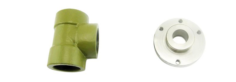 1. Rupture pin valve body and cover - High pressure relief valve